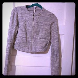 Fabletics cropped athletic jacket